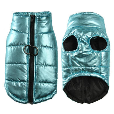 Mini Maxi Foil Puffa Jacket for dogs, dog clothes, dogs clothes, dog clothing, small dog clothes, dogs clothing, dog clothes female, dogs clothes boy, Dogs Clothes For Small To Medium Dog, HolaPet, BowWow Shop - Top Dog Outfits Store