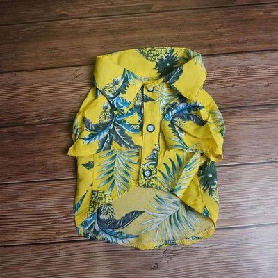 Pineapple Print Summer Shirt for dogs, dog clothes, dogs clothes, dog clothing, small dog clothes, dogs clothing, dog clothes female, dogs clothes boy, Dogs Clothes For Small To Medium Dog, Best For Pet, BowWow Shop - Top Dog Outfits Store