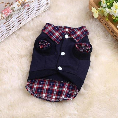 Plaid Shirt and Vest for dogs, dog clothes, dogs clothes, dog clothing, small dog clothes, dogs clothing, dog clothes female, dogs clothes boy, Dogs Clothes For Small To Medium Dog, DaWang, BowWow Shop - Top Dog Outfits Store