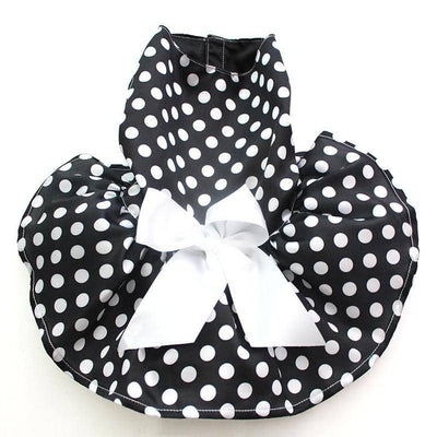 Polka-Dot Full Frock for dogs, dog clothes, dogs clothes, dog clothing, small dog clothes, dogs clothing, dog clothes female, dogs clothes boy, Dogs Clothes For Small To Medium Dog, SKS, BowWow Shop - Top Dog Outfits Store
