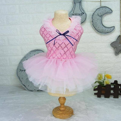 Princess Dress with Sequin Patterned Bodice for dogs, dog clothes, dogs clothes, dog clothing, small dog clothes, dogs clothing, dog clothes female, dogs clothes boy, Dogs Clothes For Small To Medium Dog, ePet, BowWow Shop - Top Dog Outfits Store