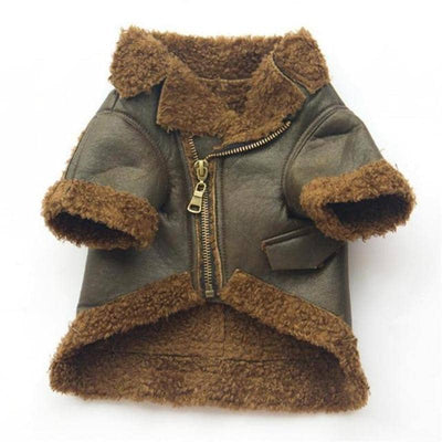 PU Leather & Fleece Coat for dogs, dog clothes, dogs clothes, dog clothing, small dog clothes, dogs clothing, dog clothes female, dogs clothes boy, Dogs Clothes For Small To Medium Dog, Tailup, BowWow Shop - Top Dog Outfits Store
