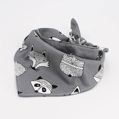 Dog Raccoon & Arrow Dog Bandana Set | Small to Medium Dog Fashion Clothing | BowWow shop Online