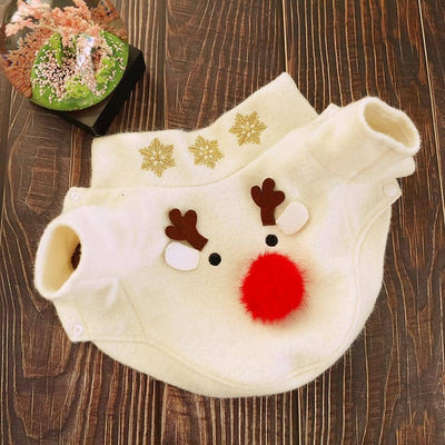 Reindeer Coat for dogs, dog clothes, dogs clothes, dog clothing, small dog clothes, dogs clothing, dog clothes female, dogs clothes boy, Dogs Clothes For Small To Medium Dog, Petcircle, BowWow Shop - Top Dog Outfits Store