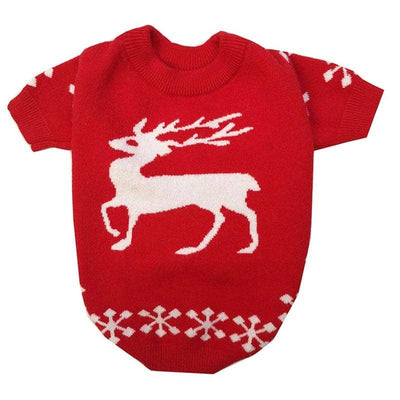 Reindeer Sweater for dogs, dog clothes, dogs clothes, dog clothing, small dog clothes, dogs clothing, dog clothes female, dogs clothes boy, Dogs Clothes For Small To Medium Dog, Xiao, BowWow Shop - Top Dog Outfits Store