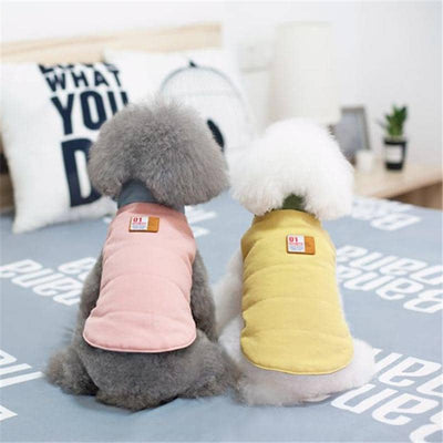 Reversible Two-Tone Vest for dogs, dog clothes, dogs clothes, dog clothing, small dog clothes, dogs clothing, dog clothes female, dogs clothes boy, Dogs Clothes For Small To Medium Dog, Liz's Wonderland, BowWow Shop - Top Dog Outfits Store
