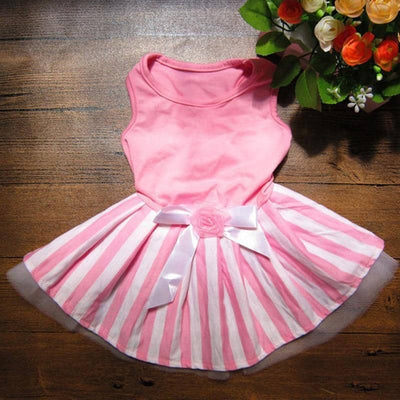 Rose Day Dress for dogs, dog clothes, small dog clothes, dogs clothing, dog clothes female, dogs clothes boy, Dogs Clothes For Small To Medium Dog, KeepBest, BowWow Shop - Top Dog Clothing Store