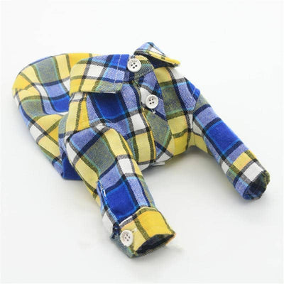 Royal Sunrise Flannel Shirt for dogs, dog clothes, dogs clothes, dog clothing, small dog clothes, dogs clothing, dog clothes female, dogs clothes boy, Dogs Clothes For Small To Medium Dog, Liz's Wonderland, BowWow Shop - Top Dog Outfits Store