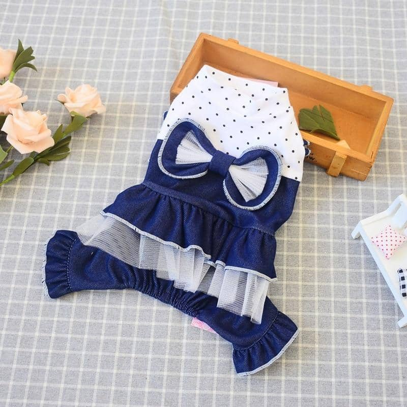 Sailor Baby Jumpsuit for dogs, dog clothes, dogs clothes, dog clothing, small dog clothes, dogs clothing, dog clothes female, dogs clothes boy, Dogs Clothes For Small To Medium Dog, SKS, BowWow Shop - Top Dog Outfits Store