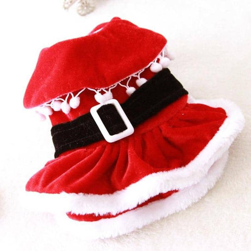 Santas Helper Dress for dogs, dog clothes, small dog clothes, dogs clothing, dog clothes female, dogs clothes boy, Dogs Clothes For Small To Medium Dog, Fun Of Pets, BowWow Shop - Top Dog Clothing Store