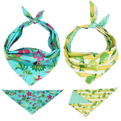 Spring Bandana Set for dogs, dog clothes, small dog clothes, dogs clothing, dog clothes female, dogs clothes boy, Dogs Clothes For Small To Medium Dog, Free Sunday, BowWow Shop - Top Dog Clothing Store