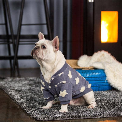 Star Cardigan for dogs, dog clothes, dogs clothes, dog clothing, small dog clothes, dogs clothing, dog clothes female, dogs clothes boy, Dogs Clothes For Small To Medium Dog, PetMundo, BowWow Shop - Top Dog Outfits Store
