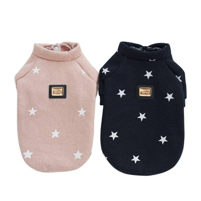 Star Print Sweater for dogs, dog clothes, dogs clothes, dog clothing, small dog clothes, dogs clothing, dog clothes female, dogs clothes boy, Dogs Clothes For Small To Medium Dog, H-World, BowWow Shop - Top Dog Outfits Store