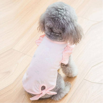 Star Tie T-Shirt for dogs, dog clothes, small dog clothes, dogs clothing, dog clothes female, dogs clothes boy, Dogs Clothes For Small To Medium Dog, Hipidog, BowWow Shop - Top Dog Clothing Store