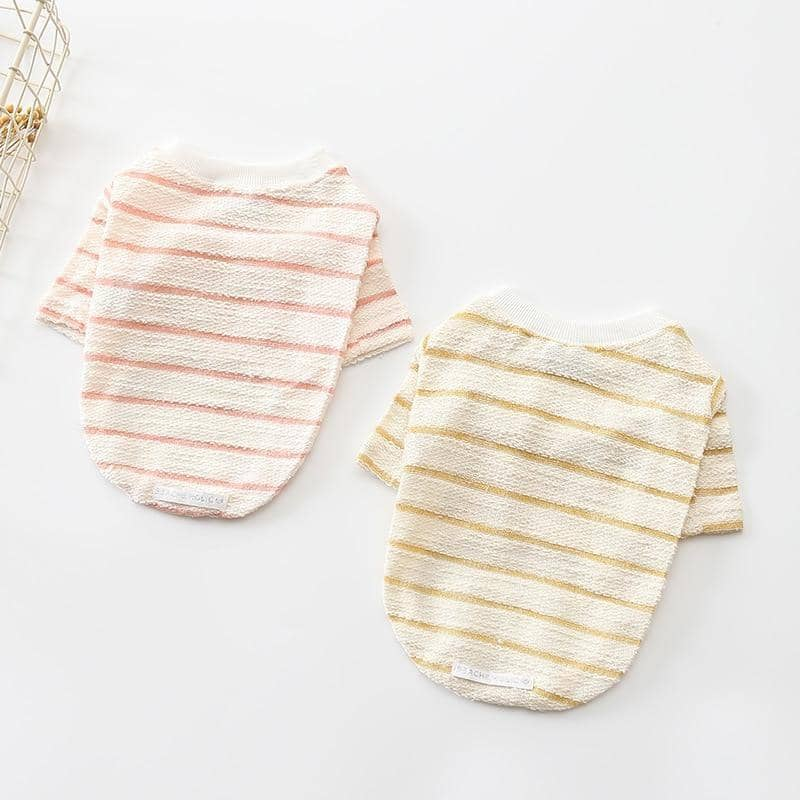 Striped Elegant Shirt for dogs, dog clothes, dogs clothes, dog clothing, small dog clothes, dogs clothing, dog clothes female, dogs clothes boy, Dogs Clothes For Small To Medium Dog, PetMundo, BowWow Shop - Top Dog Outfits Store