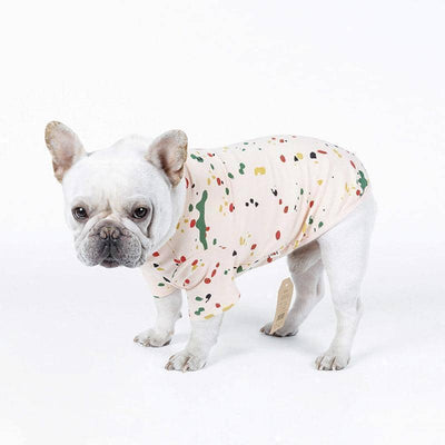 Summer Splatter T-Shirt & Dress for dogs, dog clothes, dogs clothes, dog clothing, small dog clothes, dogs clothing, dog clothes female, dogs clothes boy, Dogs Clothes For Small To Medium Dog, PetMundo, BowWow Shop - Top Dog Outfits Store