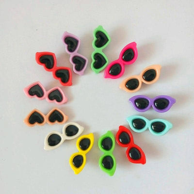 Sunglasses Hair Clip Pack for dogs, dog clothes, dogs clothes, dog clothing, small dog clothes, dogs clothing, dog clothes female, dogs clothes boy, Dogs Clothes For Small To Medium Dog, Elfie, BowWow Shop - Top Dog Outfits Store