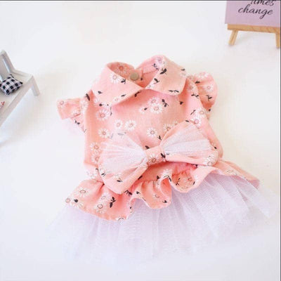Sweet Daisy Tutu for dogs, dog clothes, small dog clothes, dogs clothing, dog clothes female, dogs clothes boy, Dogs Clothes For Small To Medium Dog, SKS, BowWow Shop - Top Dog Clothing Store