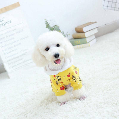 Winter Fox Hoodie for dogs, dog clothes, dogs clothes, dog clothing, small dog clothes, dogs clothing, dog clothes female, dogs clothes boy, Dogs Clothes For Small To Medium Dog, Petamor, BowWow Shop - Top Dog Outfits Store