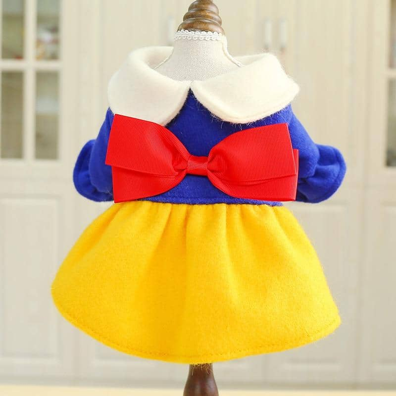 Princess Snow White Dress for dogs, dog clothes, dogs clothes, dog clothing, small dog clothes, dogs clothing, dog clothes female, dogs clothes boy, Dogs Clothes For Small To Medium Dog, Petcircle, BowWow Shop - Top Dog Outfits Store