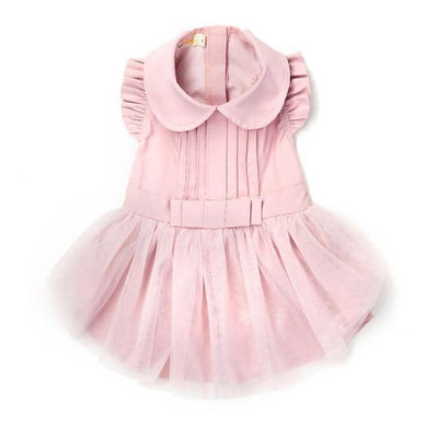 Love Rose Pleat Dress for dogs, dog clothes, dogs clothes, dog clothing, small dog clothes, dogs clothing, dog clothes female, dogs clothes boy, Dogs Clothes For Small To Medium Dog, UF Bemo, BowWow Shop - Top Dog Outfits Store