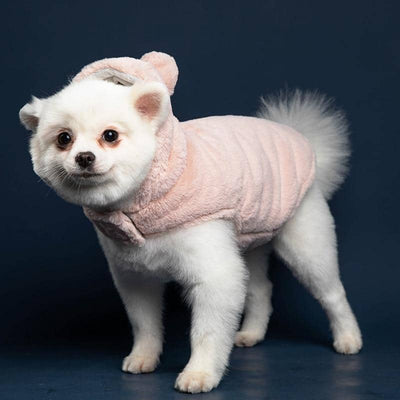 Fluffy As Pom Pom Hoodie for dogs, dog clothes, dogs clothes, dog clothing, small dog clothes, dogs clothing, dog clothes female, dogs clothes boy, Dogs Clothes For Small To Medium Dog, UF Bemo, BowWow Shop - Top Dog Outfits Store