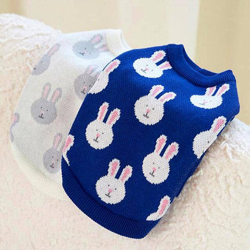 Sweet Bunny Rabbit Sweater for dogs, dog clothes, dogs clothes, dog clothing, small dog clothes, dogs clothing, dog clothes female, dogs clothes boy, Dogs Clothes For Small To Medium Dog, PetMundo, BowWow Shop - Top Dog Outfits Store