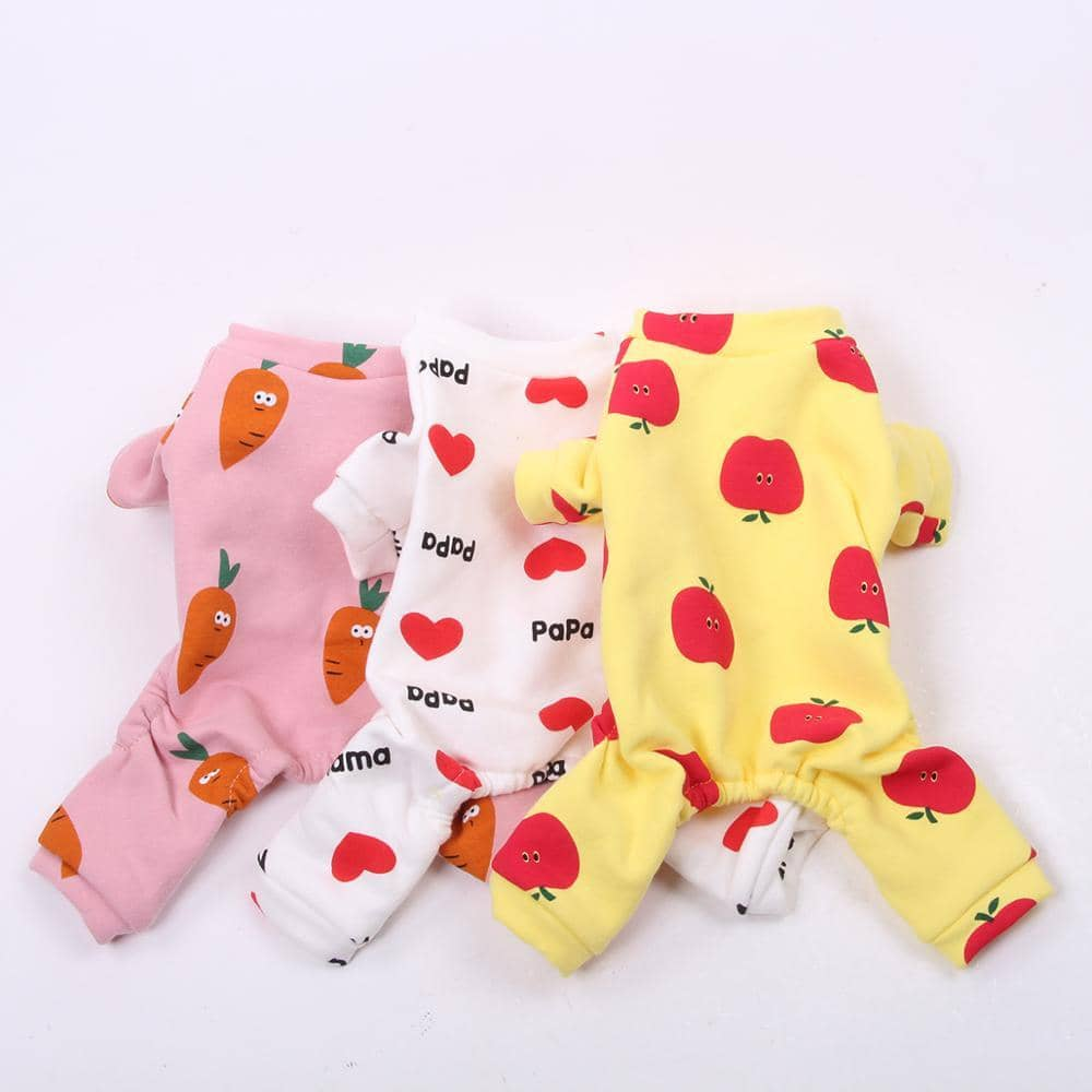 Healthy Snack Onesie for dogs, dog clothes, dogs clothes, dog clothing, small dog clothes, dogs clothing, dog clothes female, dogs clothes boy, Dogs Clothes For Small To Medium Dog, SKS, BowWow Shop - Top Dog Outfits Store