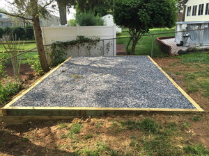 Concrete Foundation Slab