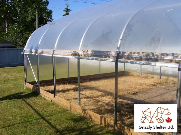 High Tunnel Coldframe Hoop House Greenhouse