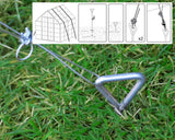 Greenhouse or Shed Anchor Straps