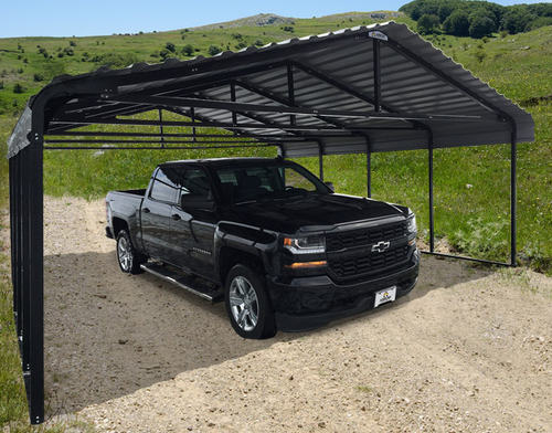 20 Foot Wide Steel Carport