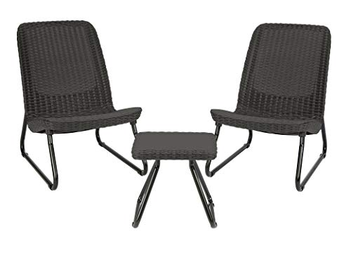 All Weather Outdoor Patio Chair & Table Set