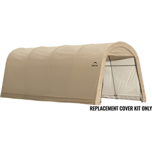 AutoShelter RoundTop 10 ft. x 20 ft. x 8 ft Replacement Cover
