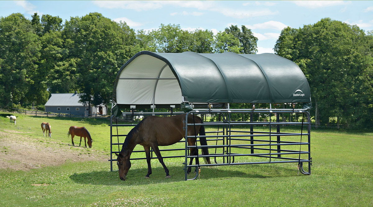 Livestock Corral Shelter – Grizzly Shelter Canada