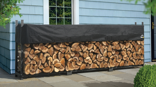 Ultra Duty Steel Firewood Rack