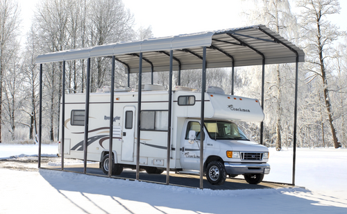 Steel RV Carport