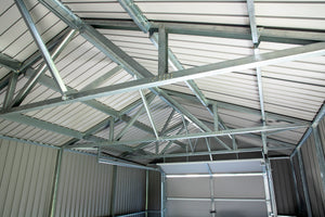 Steel Garage With Rollup Door