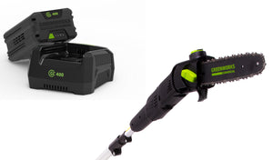 Greenworks Electric Pole Chainsaw