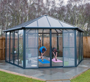 Garda Enclosed Garden or Patio Gazebo
