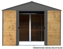 Ironwood Steel and Wood Storage Shed