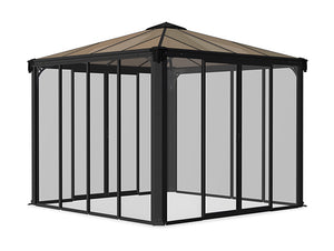 Ledro Enclosed Gazebo