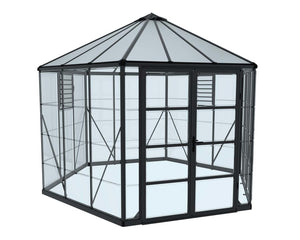 Hexagon Oasis Greenhouse or Sunroom