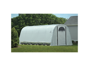 Heavy Duty Round & Peaked Fabric Greenhouse