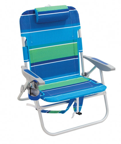 Striped Backpack Chair