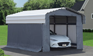 Arrow Carport Enclosure Kit - Steel Carport NOT Included