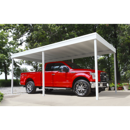 Flat Steel Carport or Awning