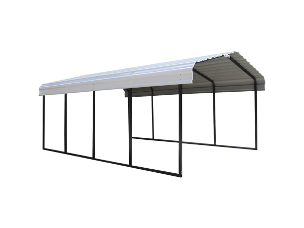 Steel Metal Carport - Grizzly Shelter Canada