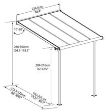 Sierra Patio Cover Awning