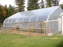 Custom High Tunnel Coldframe Greenhouse
